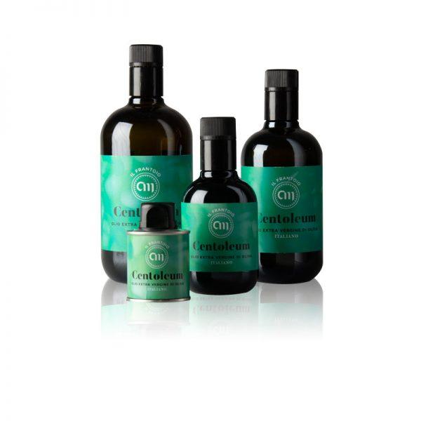 Olio di oliva extravergine dell'Umbria Centoleum